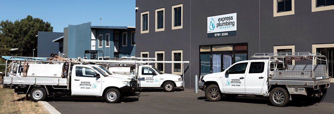 Express Plumbing Bunbury, Local Plumbing